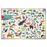 Eeboo 100 Piece Puzzle - Beautiful World